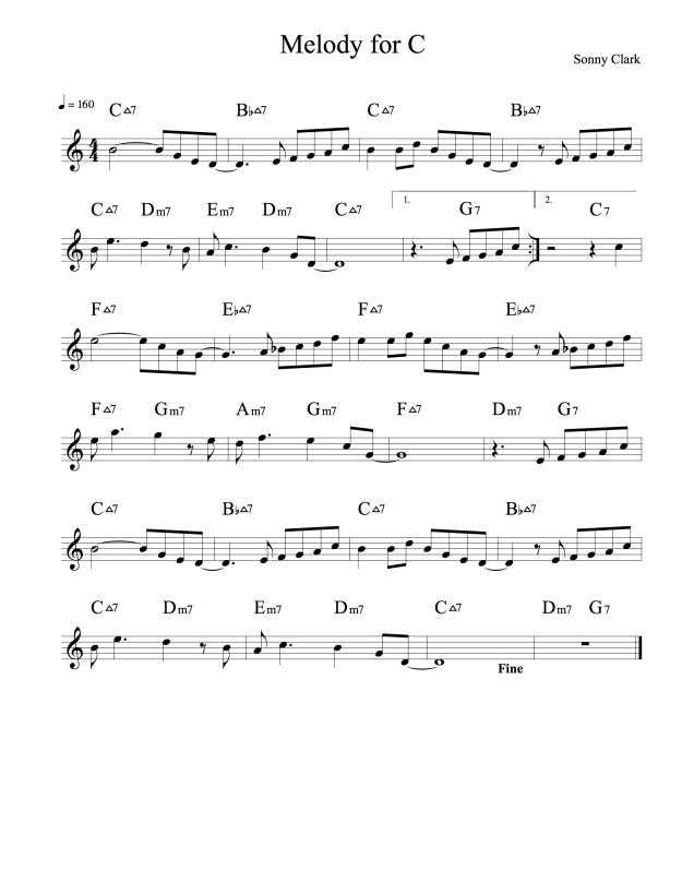 Melody for C