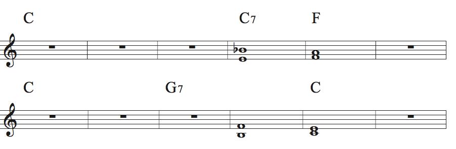 Jazz Reharmonization And The Blues Noteheads